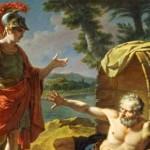 داستان حکمت آموز کوتاه(زندگی از نگاه اسکندرمقدونی),داستان حکیمانه کوتاه,داستان های کوتاه حکیمانه,داستان های کوتاه و حکیمانه