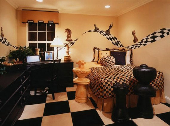 اتاق خواب پسرانه نوجوان,انواع مدل اتاق خواب پسرانه,دکوراسیون اتاق خواب کودک پسرانه