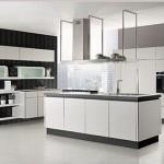دکوراسیون اشپزخانه سیاه وسفید,دکوراسیون آشپزخانه سیاه وسفید,عکس آشپزخانه سیاه و سفید
