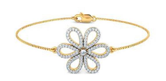 مدل دستبند ظریف طلا