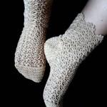 آموزش بافت تصویری جوراب,اموزش بافت جوراب وپاپوش,آموزش بافت جوراب با قلاب,آموزش بافت جوراب بافتنی
