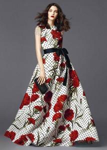 مدل لباس های d&g,مدل لباس دی اند جی 2015,پیراهن های تابستانی دی اند جی 2015