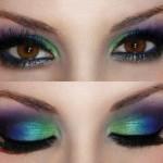 آموزش حرفه ای آرایش متقارن چشم و ابرو,روش درست آرایش چشم,روش درست آرایش چشم, روش صحیح آرایش چشم,طرز صحیح آرایش چشم