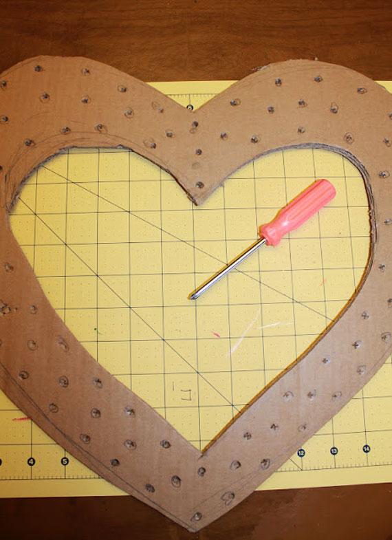 آموزش قاب عکس ولنتاین,آموزش ساخت قاب چوبی,هنر در خانه با وسایل ساده