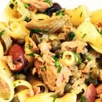 طرز تهیه ماکارونی با تن ماهی,طرز تهیه پاستا با تن ماهی,طرز پخت ماکارونی با تن ماهی