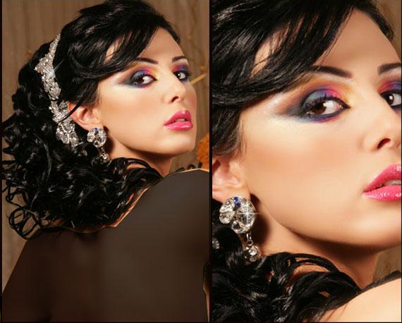 تصاویر آرایش چشم خلیجی