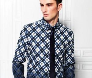 مدل پیراهن مردانه چهارخانه,پیراهن مردانه چهارخانه,لباس چهارخانه مردانه