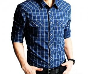 مدل پیراهن مردانه چهارخونه,مدل پیراهن مردانه چهارخانه,پیراهن مردانه چهارخونه