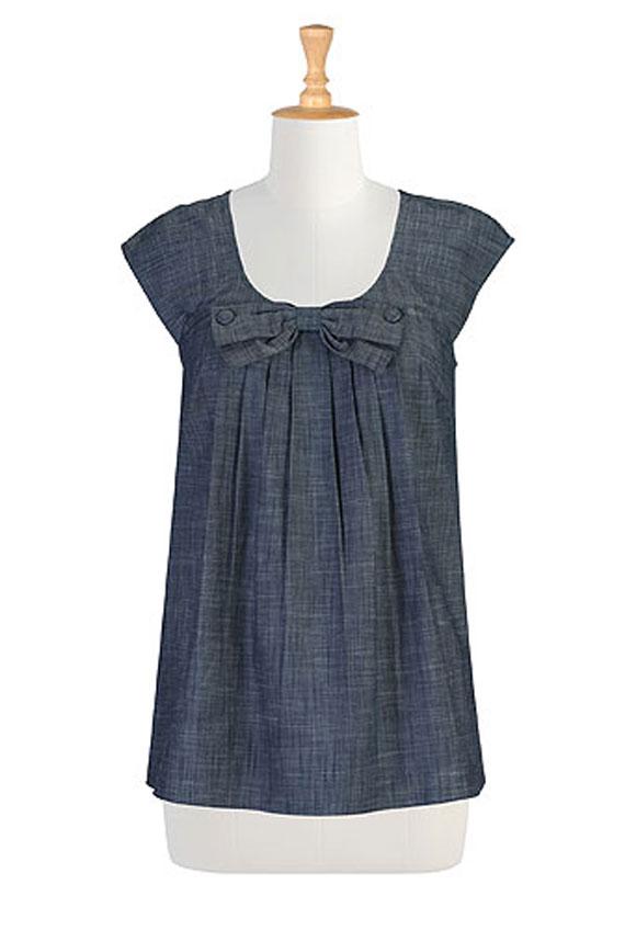 انواع مدل پیراهن بلند نخی مدل بلوز نخی تابستانه - سرزده