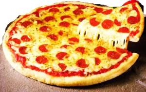 عکس آموزش پخت پیتزا پپرونی,عکس دستور پخت پیتزا پپرونی,عکس طرز تهیه پیتزا پپرونی ایتالیایی