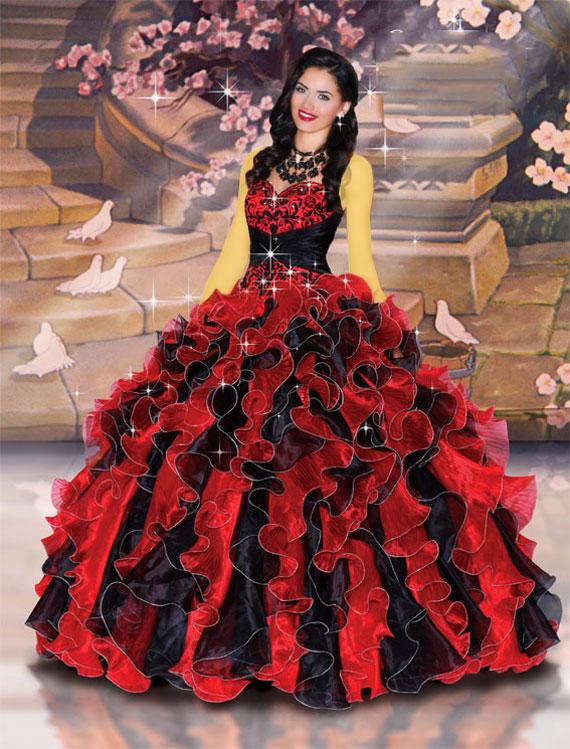 Princess dress. (11)