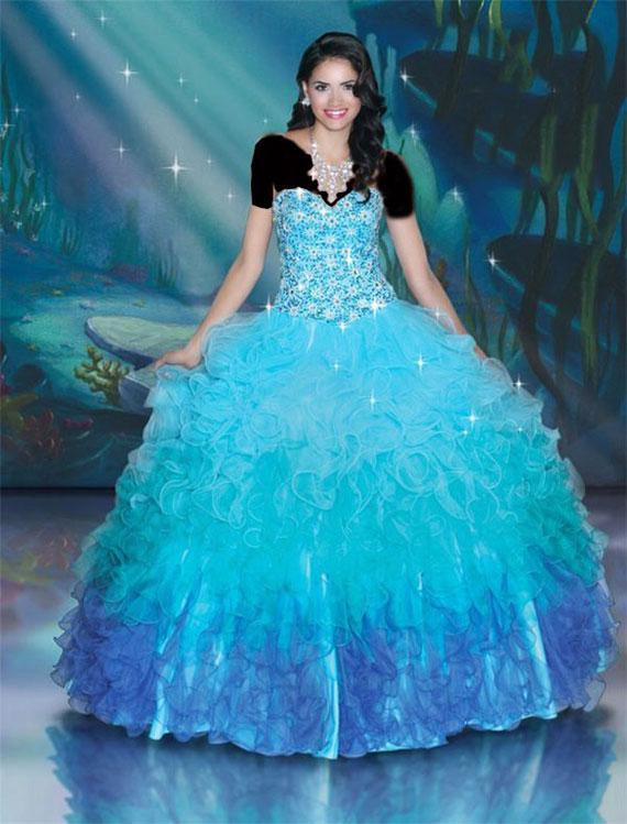 Princess dress. (2)