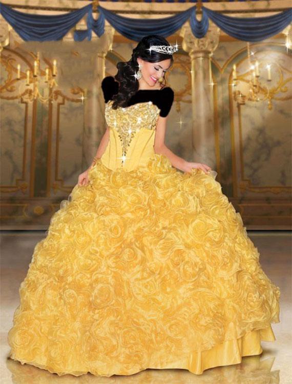 Princess dress. (3)