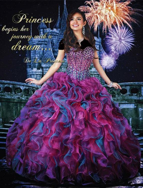 Princess dress. (9)