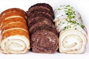 دستور پخت شیرینی رولت خامه ای بدون فر,طرز تهیه رولت خامه ای, طرز تهیه رولت خامه ای بدون فر