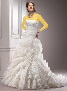 عکس بسیار زیبای لباس عروس