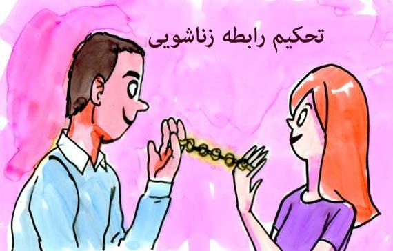 تحکیم رابطه زناشویی,راههای تحکیم روابط زناشویی,تحکیم روابط زناشویی