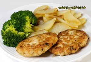 طرز تهیه کوکوی مرغ خوشمزه,طرز تهیه انواع کوکو مرغ,طرز تهیه کوکو با مرغ