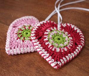 بافتنی به شکل قلب,بافتنی مدل قلب,قلاب بافی به شکل قلب,قلاب بافی طرح قلب
