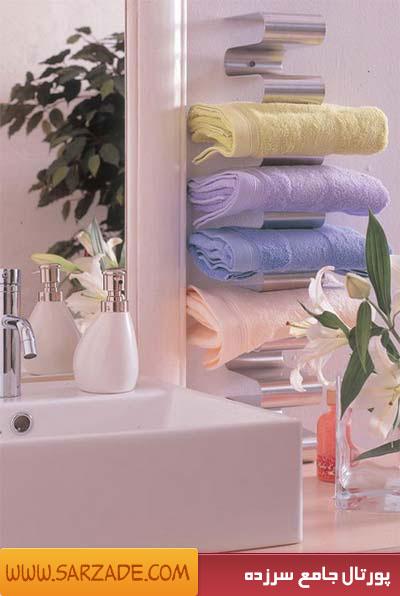 تزیین حمام و دستشویی خانه عروس