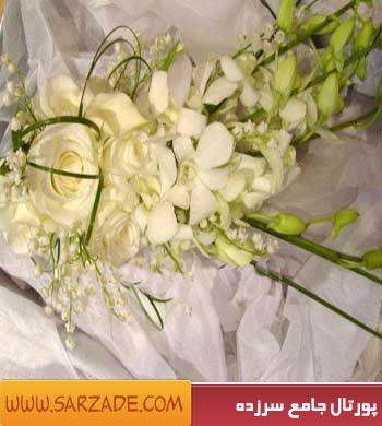 مدل دسته گل عروس,دسته گل عروس,گل عروس