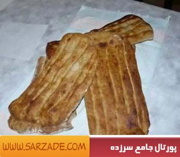 طرز تهیه نان بربری کنجدی در فر