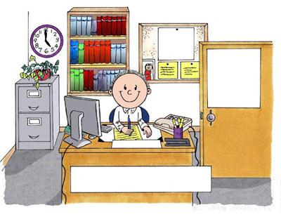 چطور دفتر کار خود را مرتب کنیم؟