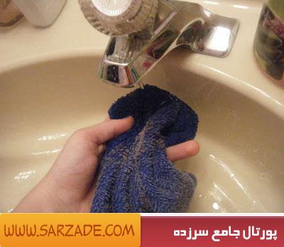 یک روش جالب برای تمیز کردن کفش!