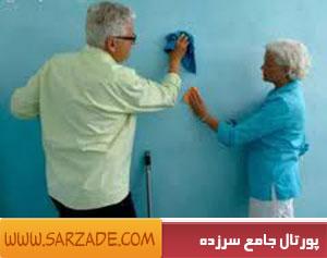 از بین بردن لکه های ماژیک از روی دیوار