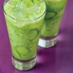 نوشیدنی تابستانی:خیارسكنجبین با طعم نعناع