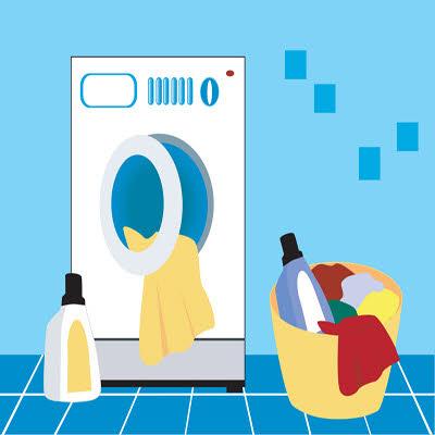 نکاتی برای شستن لباس درماشین لباسشویی