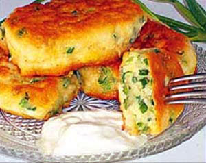 طرز تهیه پنکیک پیازچه