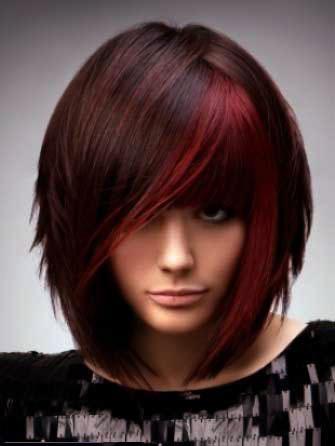 رنگ موی زنانه سال2013
