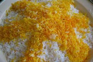 برنج خوشمزه تر