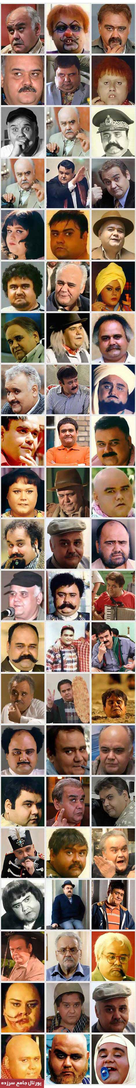 مرد 1000 چهره سینمای ایران