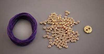 ساخت دستبند با مهره , آموزش ساخت دستبند