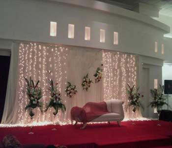 جایگاه عروس و داماد