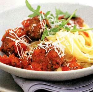 طرز تهیه کوفته ریزه با پاستا,طرز تهیه خوراک ایتالیایی