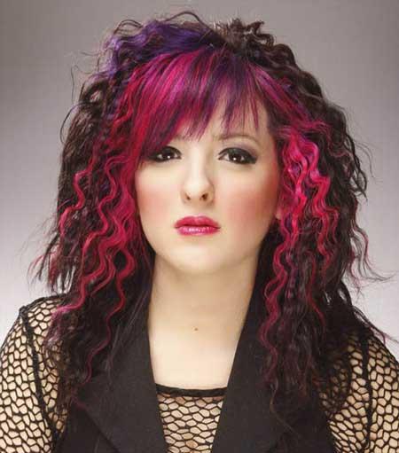 عکس مدل موی بلند زنانه و رنگ و هایلایت مو