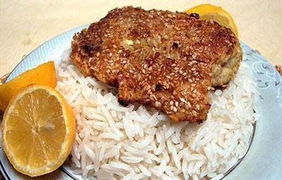 نحوه پخت ماهی کنجدی,طرز تهیه ماهی شیر کنجدی