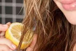 چگونه با آب لیمو موهای خود را هایلایت کنیم