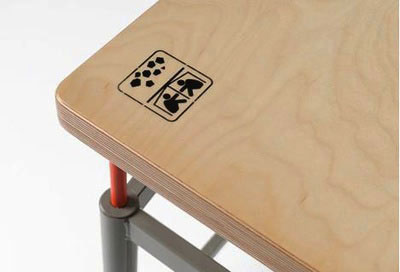 میز ضد زلزله مدارس هم اختراع شد !+ عکس