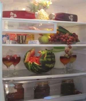 تزیین یخچال
