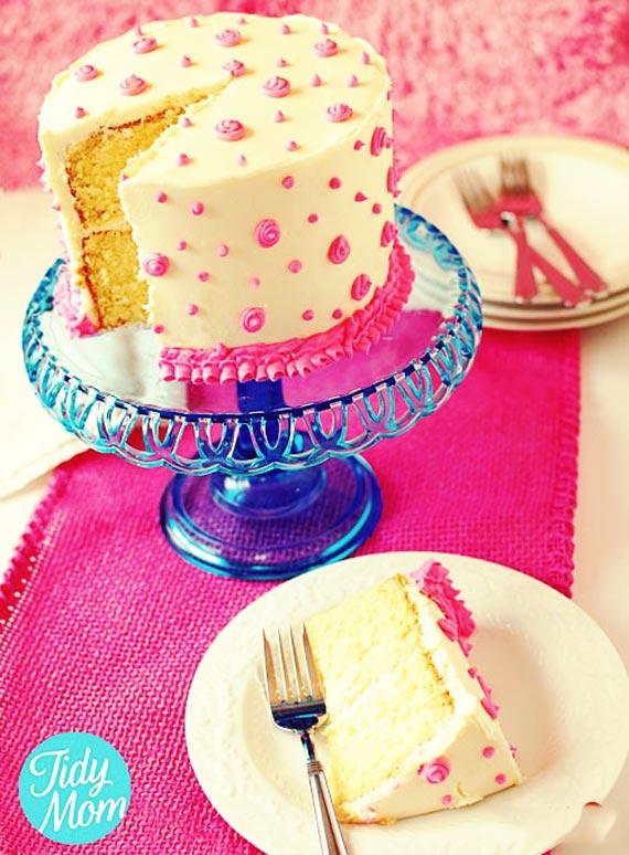آموزش تزیین کیک,آموزش تزیین کیک با خامه,آموزش تزیین کیک تولد