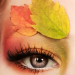 مدل آرایش چشم فصل پاییز,مدل آرایش چشم پاییزی,مدل آرایش چشم و سایه,مدل چشم آرایش شده