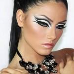 مدل خط چشم حرفه ای,کشیدن خط چشم حرفه ای,مدل های آرایش خط چشم,تصاویر خط چشم
