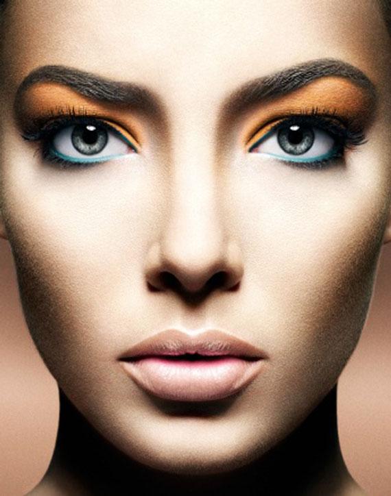 خط چشم برای چشمهای پف دار,مدل خط چشم برای چشمهای پف دار,کشیدن خط چشم برای چشمهای پف دار