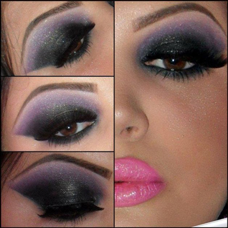 آرایش چشم قهوه ای + عکس,مدل آرایش چشم قهوه ای,آرایش چشم قهوه ای,آرایش برای چشم قهوه ای