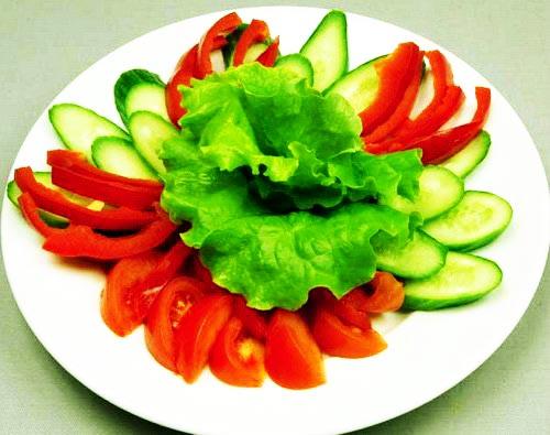 تزیین سالاد خیار و گوجه,تزیین سالاد با خیار و گوجه,تزیین سالاد با خیار و گوجه