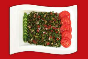 سالاد فوق العاده رژیمی با سبزیجات